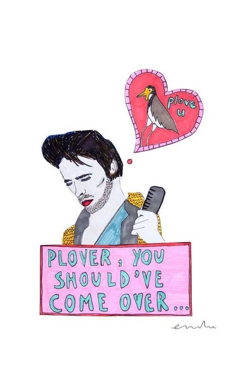 Image of Plover, You Should've Come Over Card