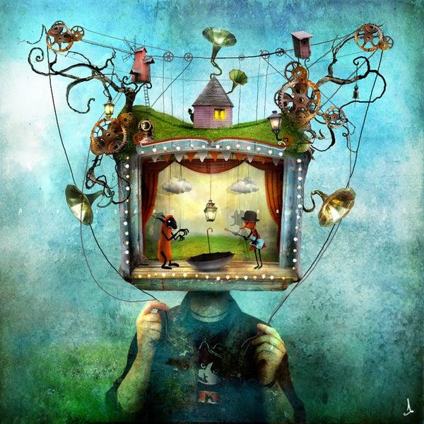 """Mr Puppethead"" - Alexander Jansson Shop"