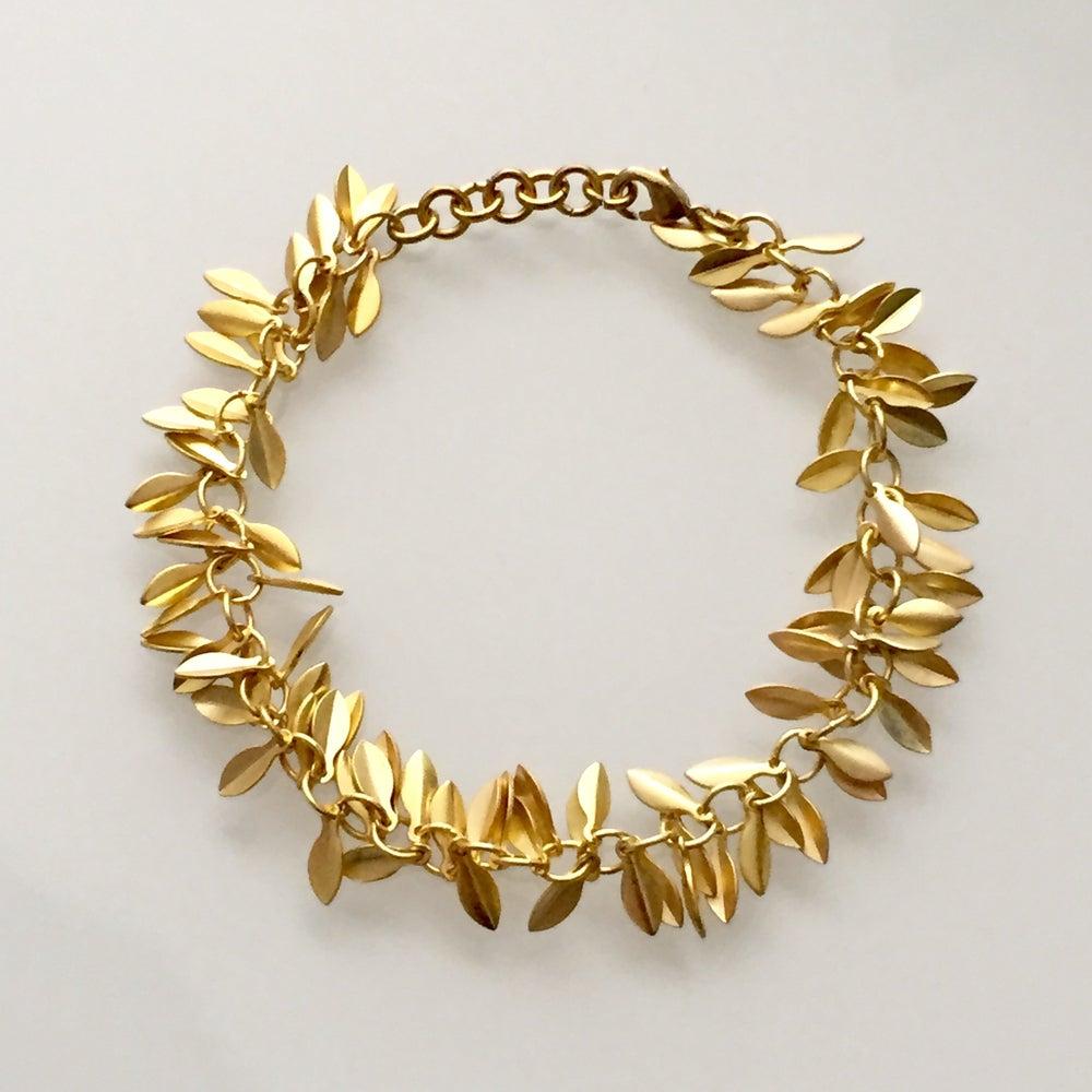 Image of Gilded Leaf Bracelet