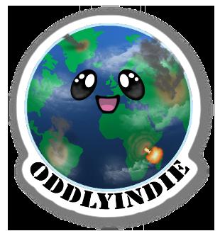 Image of Eddie Earth Die-Cut Sticker