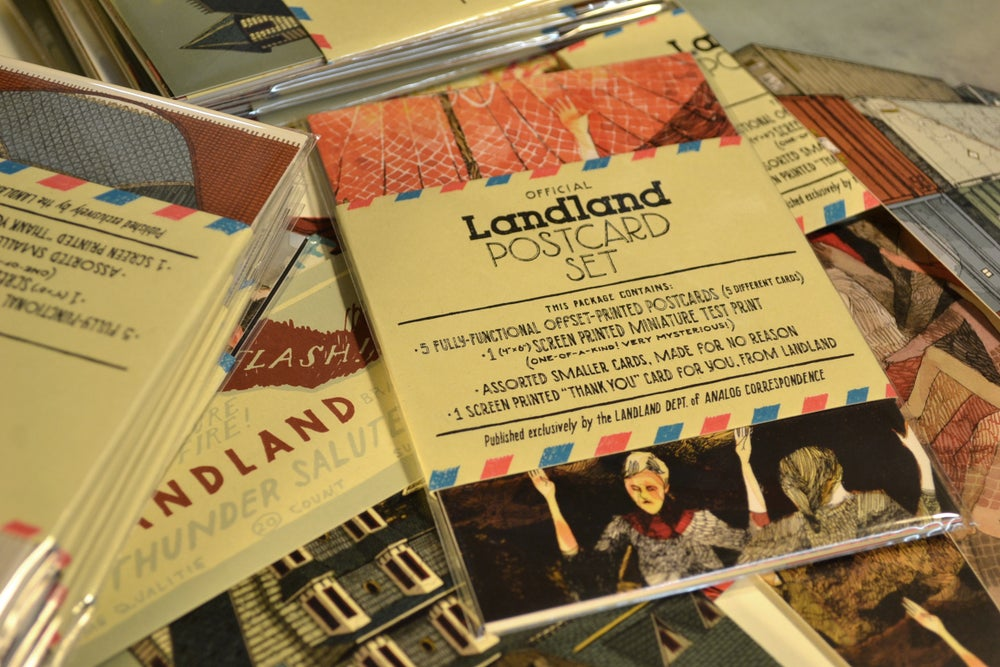 Image of Official Landland Postcard Set (Vol. One)