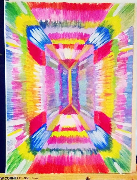 """Image of Sparkle Rectangle 