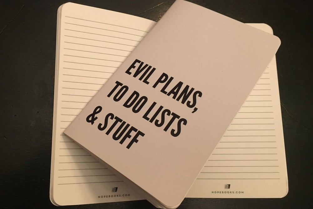 Image of Evil Plans & Stuff