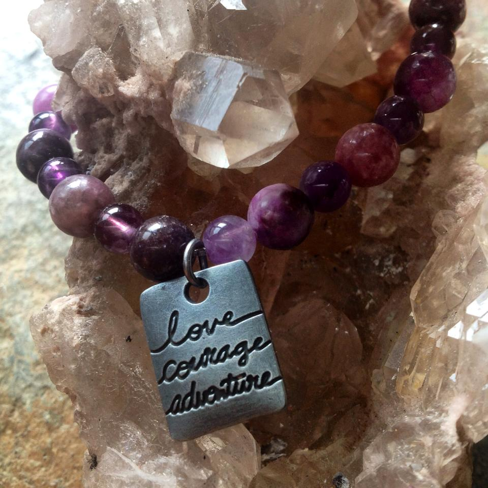 Image of Purple Awaken Your Passion with Amethyst and Lepidolite