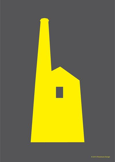 Image of Prussia Cove Tin Mine Yellow