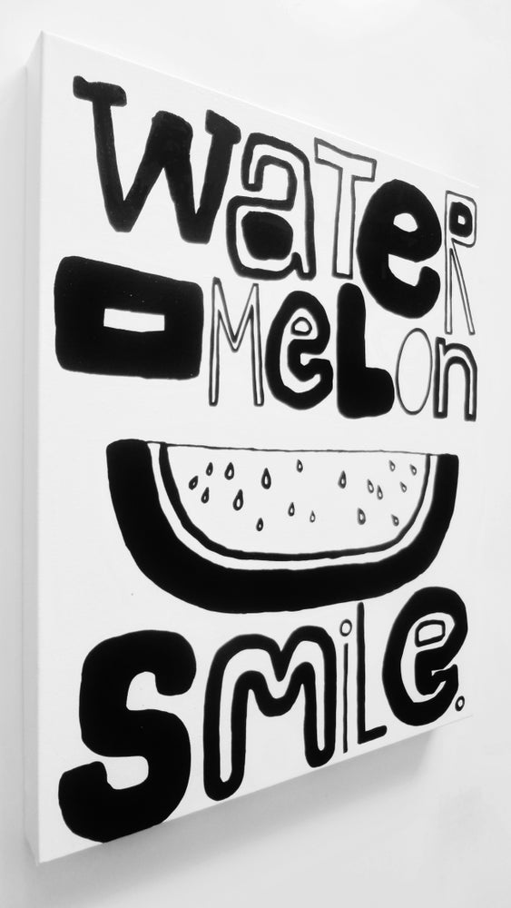 "Image of WatERMeLoN SMiLe. - 16"" X 20"""