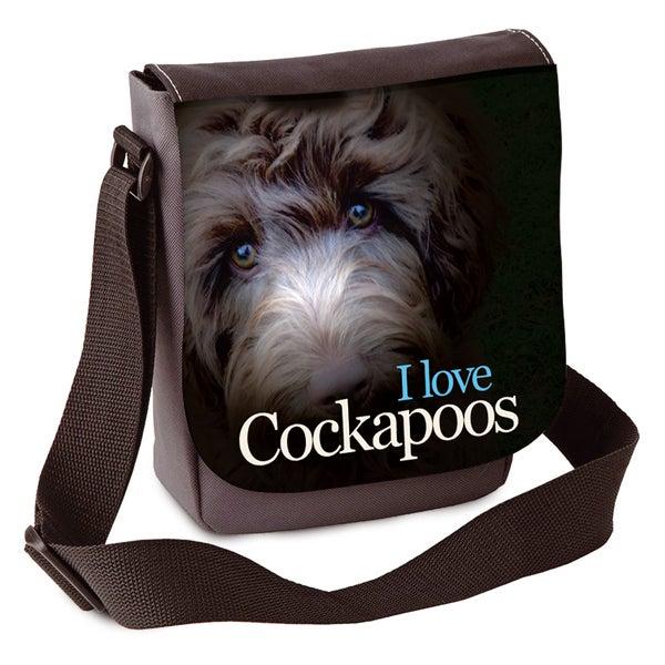 Image of 'I Love Cockapoos' Mini Shoulder Bag