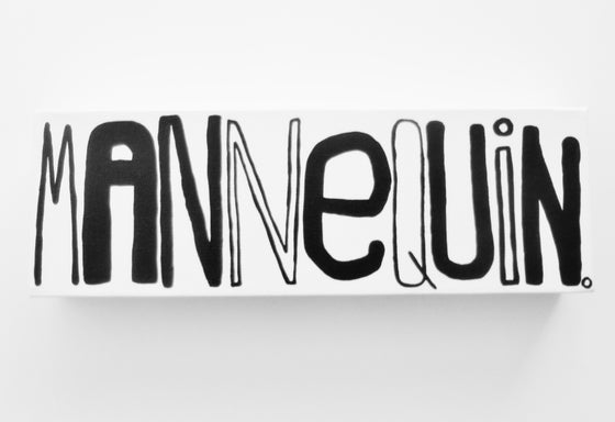 "Image of MANNEQUiN. - 4"" X 12"""