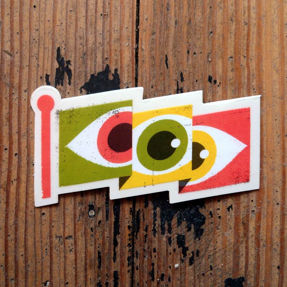 Image of Eyeflag Sticker