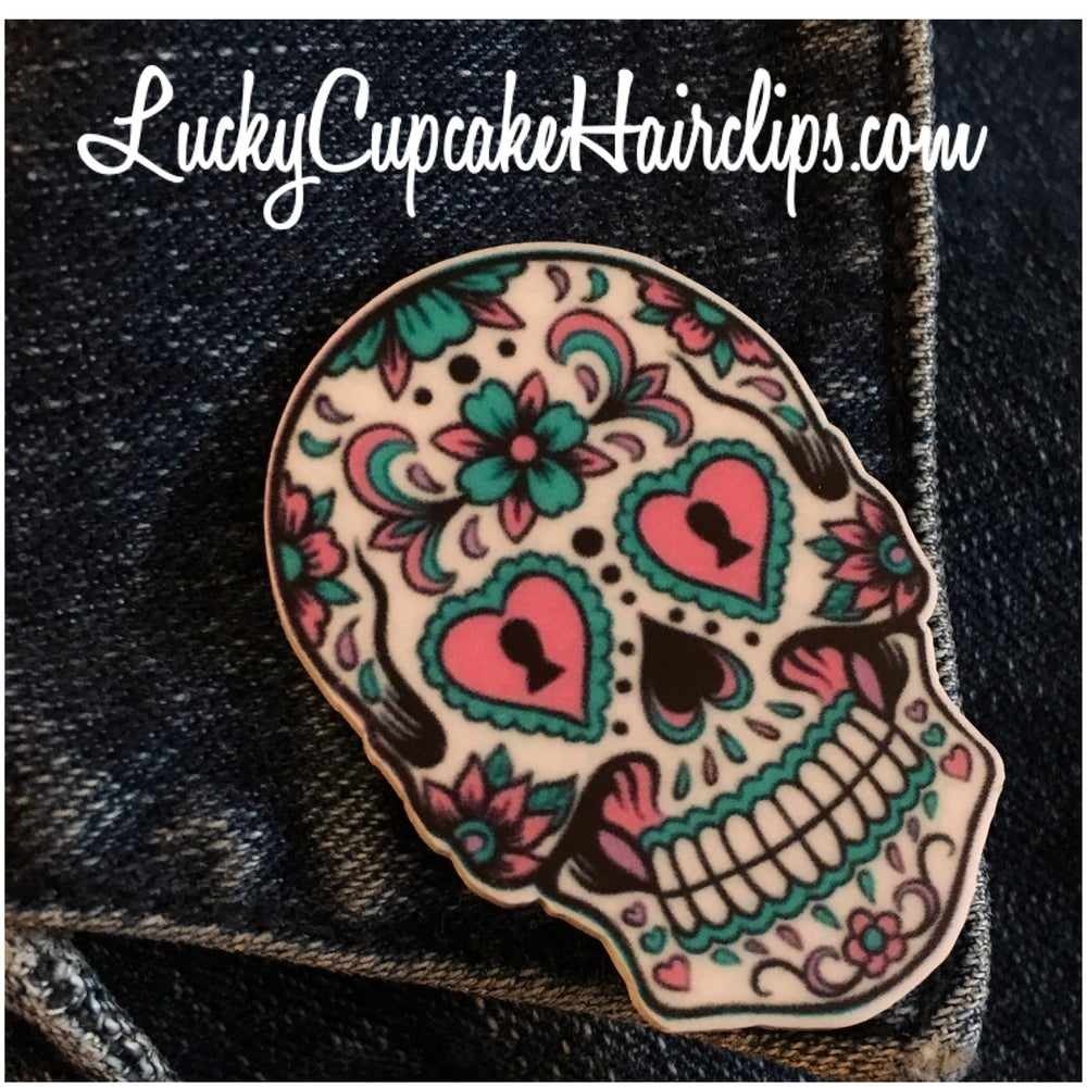 Image of Calavera Lapel Pin