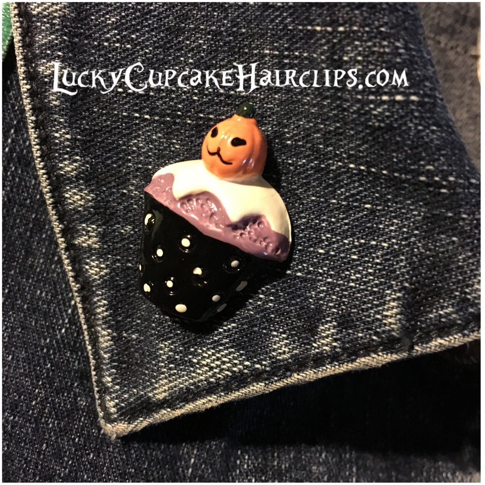 Image of Forever October Cupcake Pins