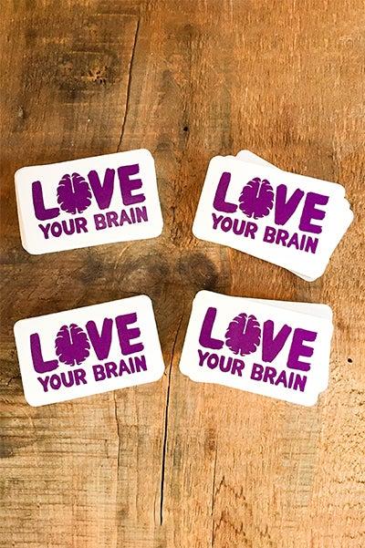 Image of Bulk LoveYourBrain Stickers