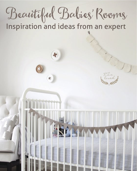 Image of Beautiful Babies' Rooms Book (soft cover)