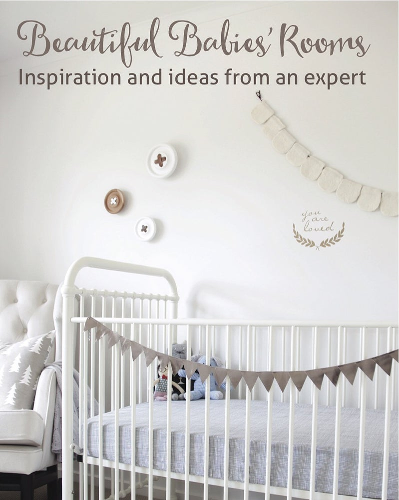 Image of BEAUTIFUL BABIES' ROOMS BOOK (HARD COVER)