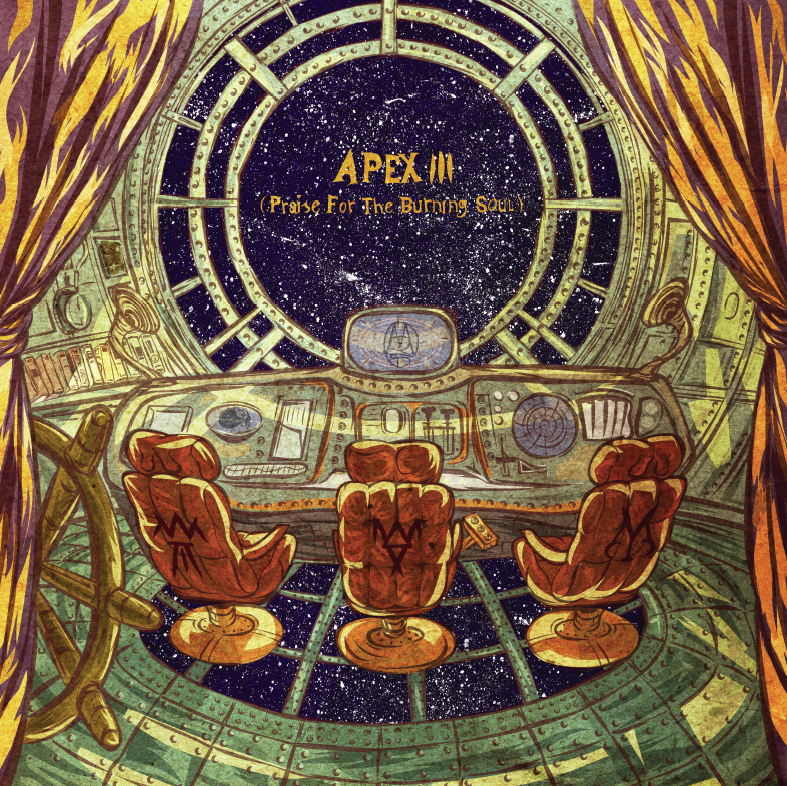 "Image of NEW ALBUM CD ""APEX III (Praise for the Burning Soul) LIMITED EDITION OCARD VERSION WITH BONUS TRACK"