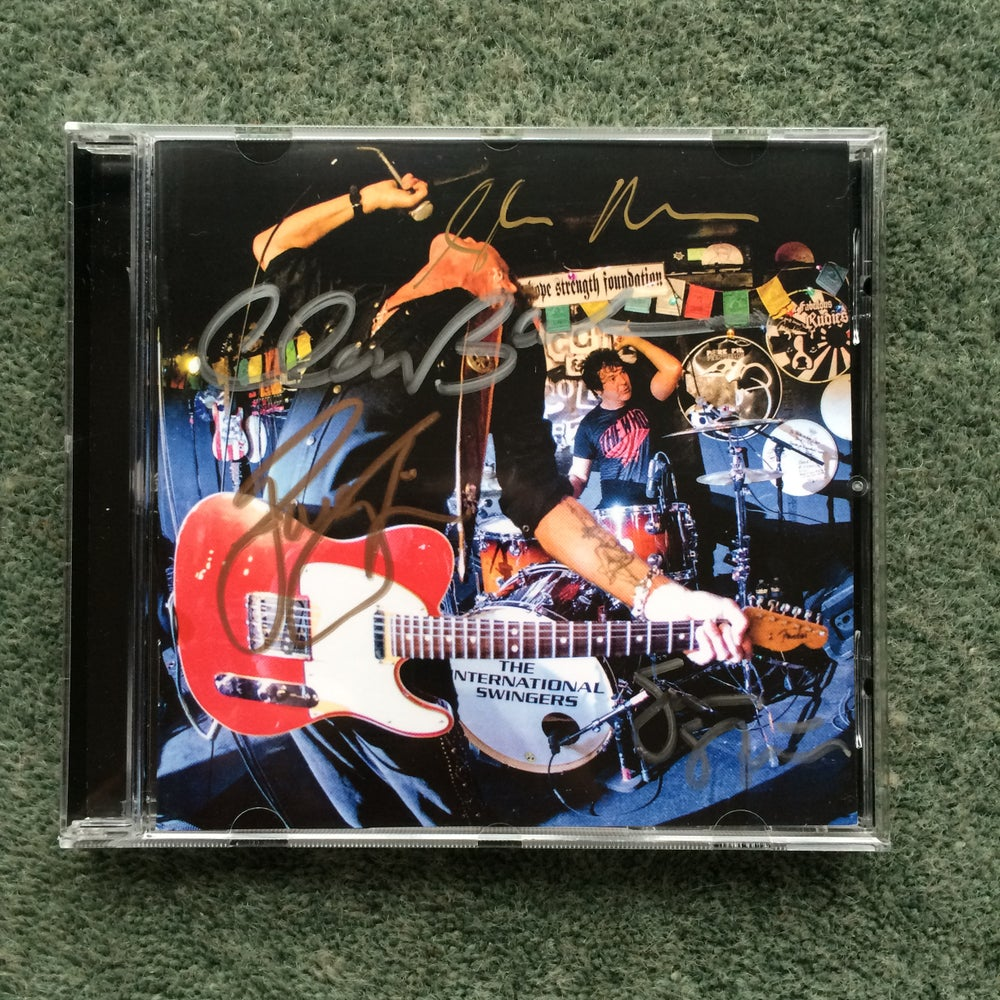 Image of The International Swingers - Signed Album CD