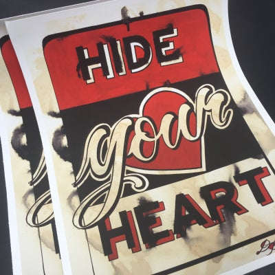 Image of HIDE YOUR HEART