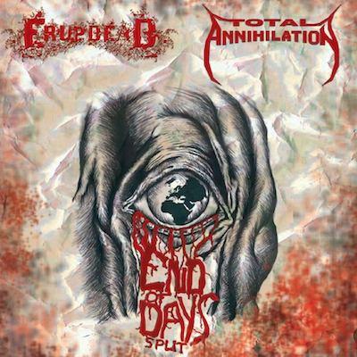 Image of End of Days Split CD