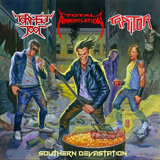 Image of Southern Devastation Split CD