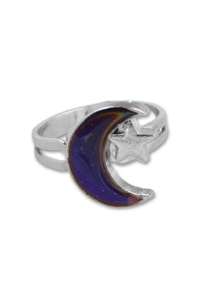 Image of MOON BABE MOOD RING