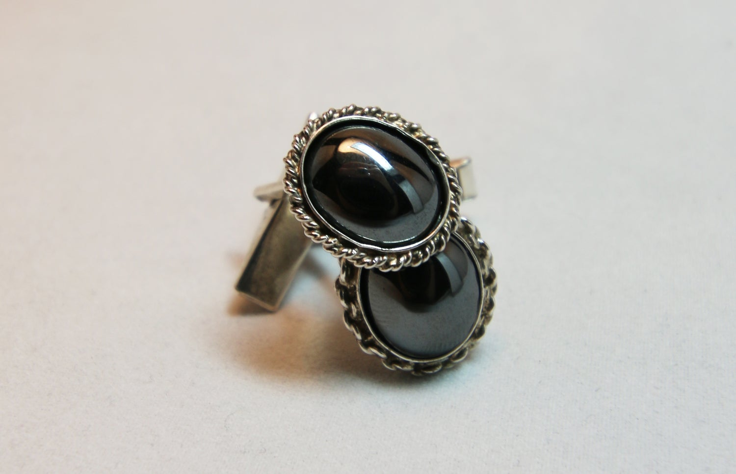 Image of Haematite Cufflinks