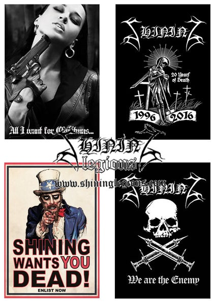 "Image of Shining ""Various Postcards"""