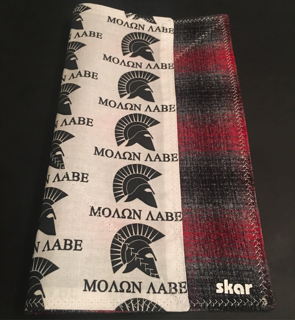 Image of Molan Labe Red and Black Flannel