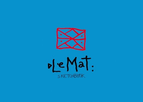 Image of Le Mat sketchbook