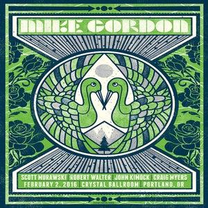 Image of Mike Gordon Concert Poster, Portland, OR