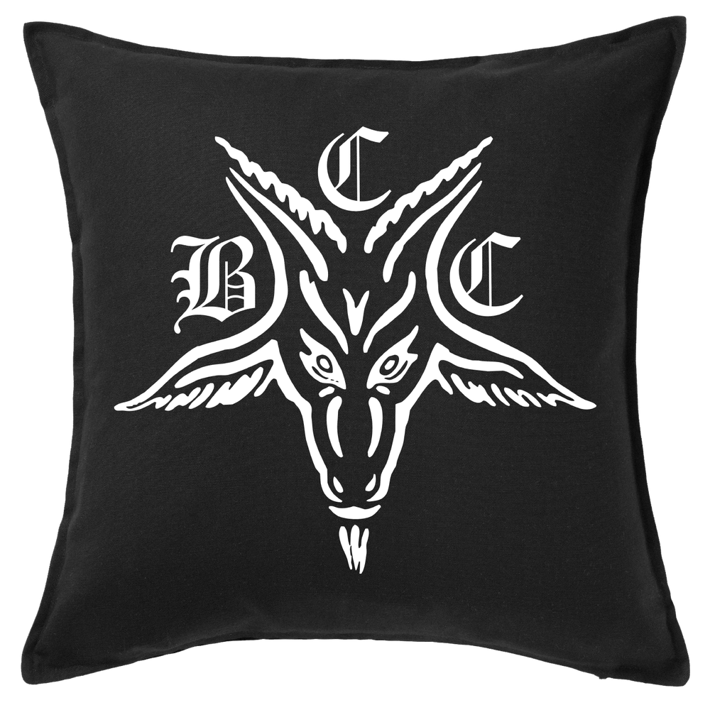 Image of BCC Goat - Throw Pillow