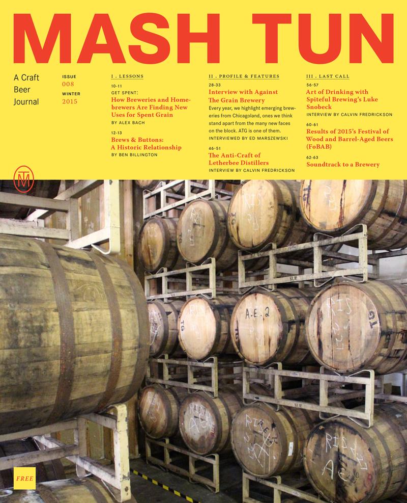 Image of Mash Tun Journal #8