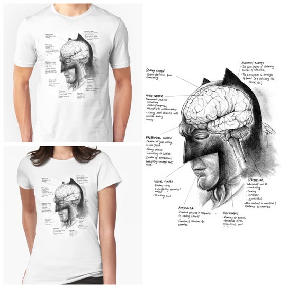 Image of Neuroscience of Batman - T-Shirt