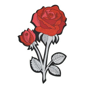 Image of *NEW* Rose Back Patch