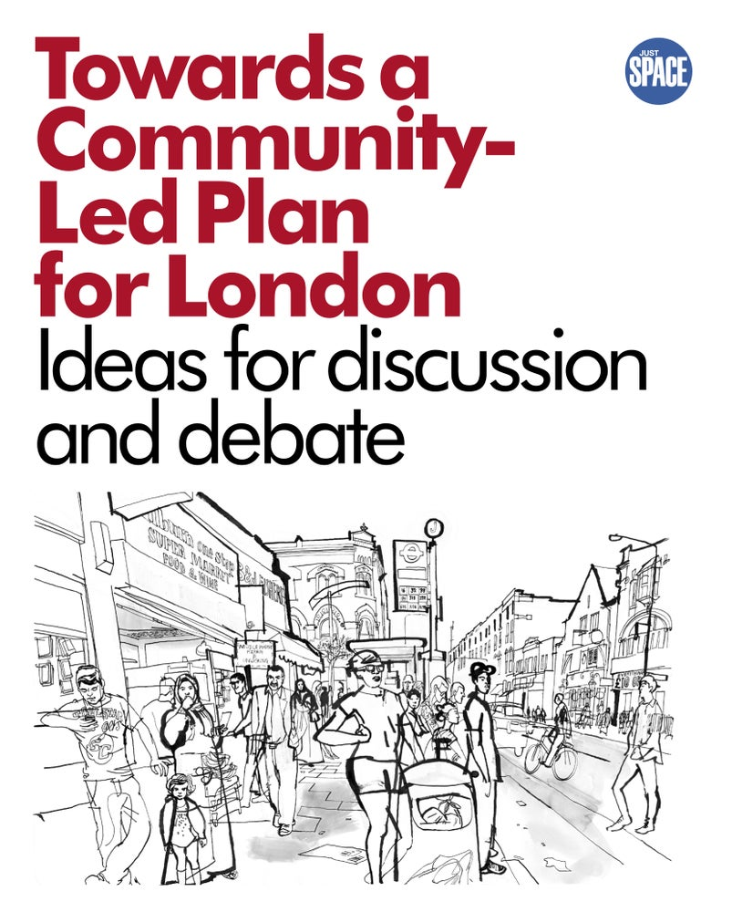 Image of Just Space: Towards a Community-led Plan for London