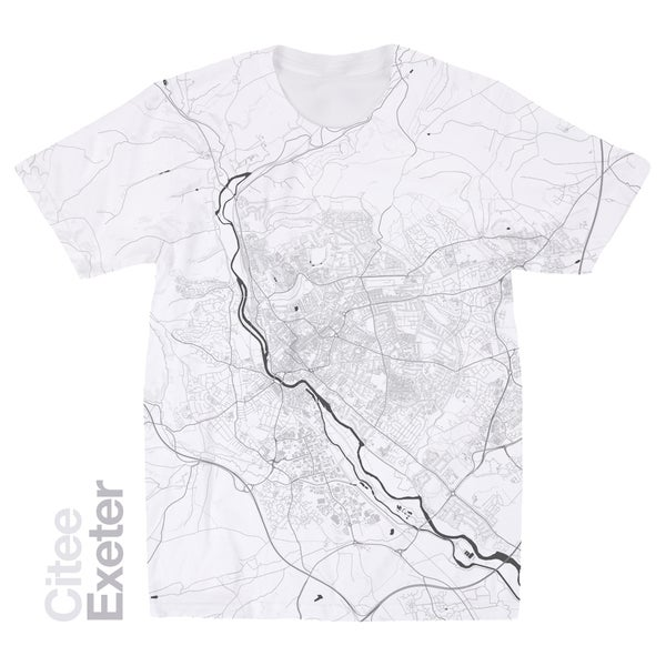 Image of Exeter map t-shirt