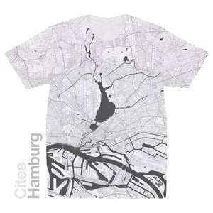 Image of Hamburg map t-shirt