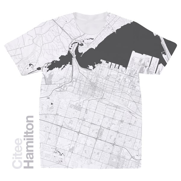 Image of Hamilton map t-shirt