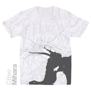 Image of Mihara map t-shirt