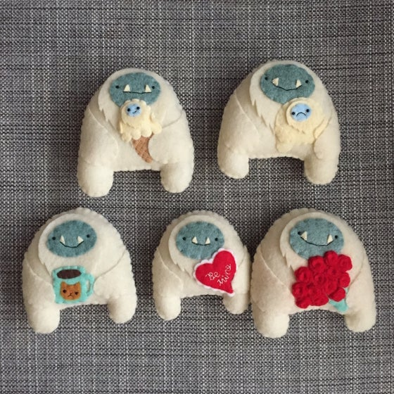 Image of special-edition winter + love yetis