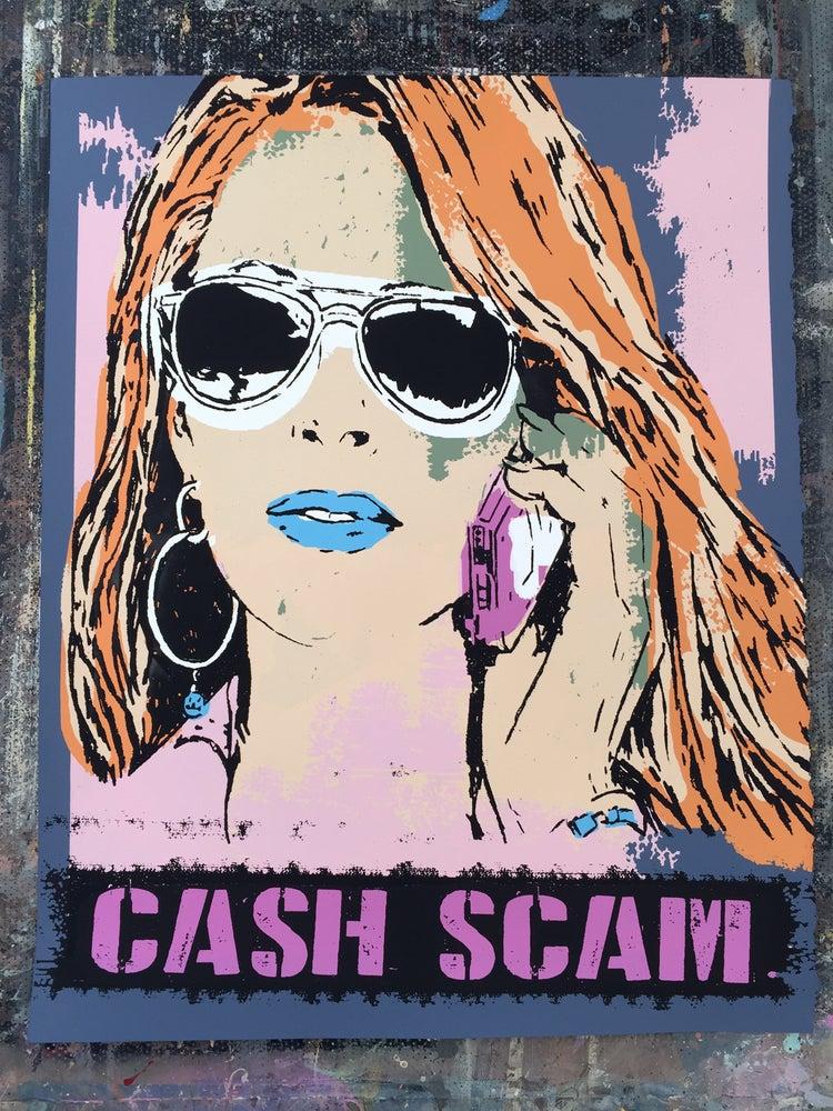 Image of Cash Scam - Hand Screen Printed Art Print