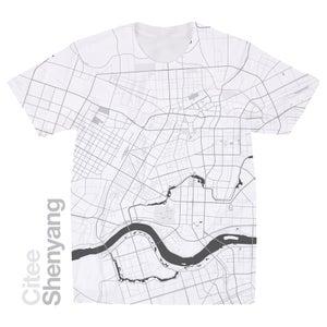 Image of Shenyang map t-shirt