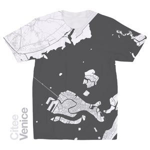 Image of Venice map t-shirt