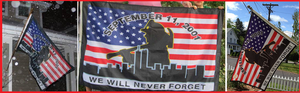 Image of 9/11 Memorial Flag