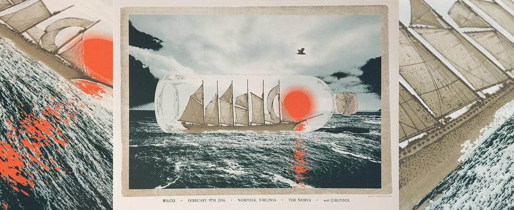Image of Wilco - Norfolk Ship in a Bottle