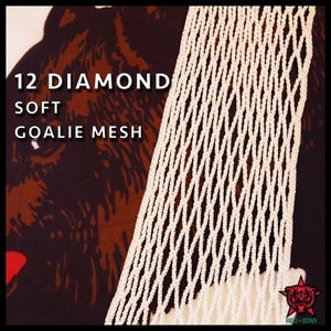 Image of 12 Diamond Goalie - Nylon Soft Mesh