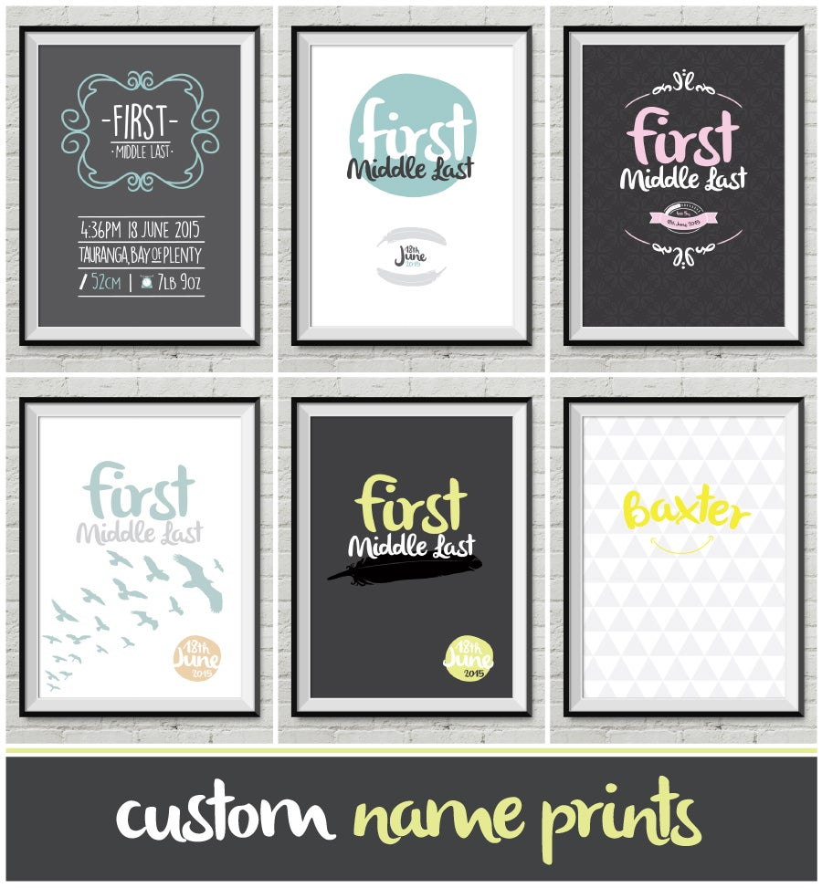 About Ted Designs Customised Name Art