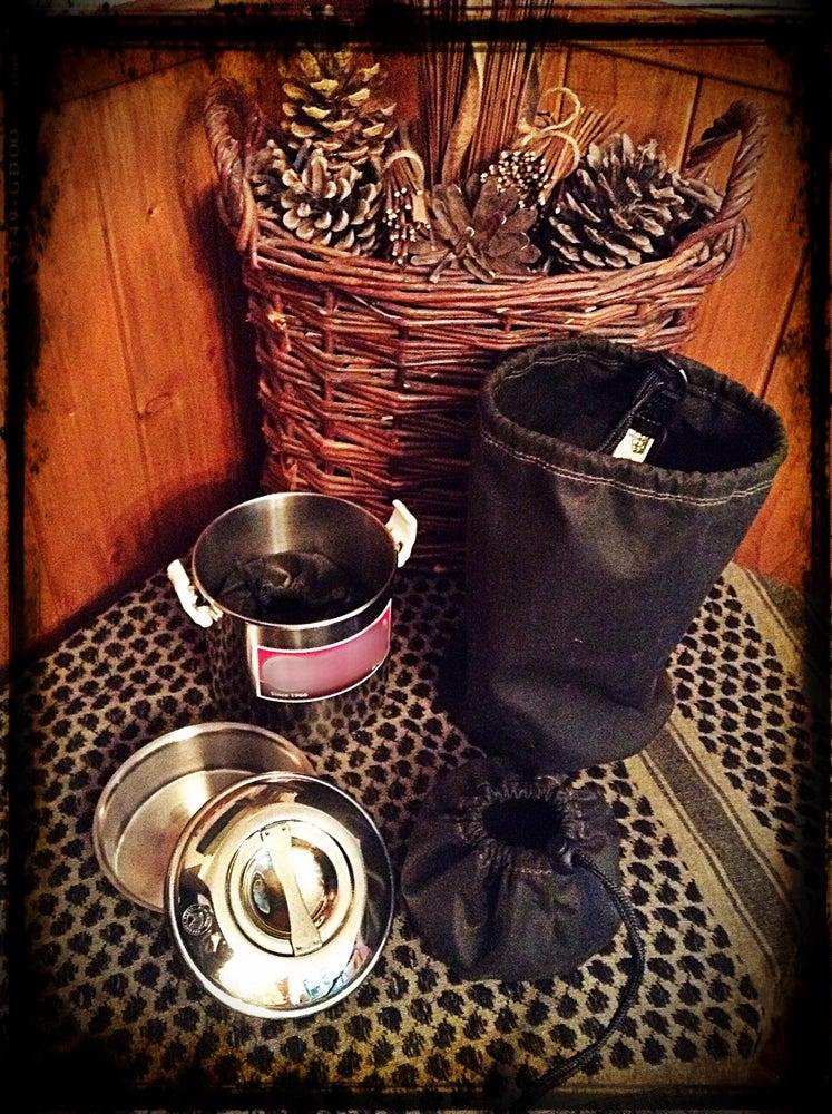 Image of BillyCan Oilskin Storage Pouch Set