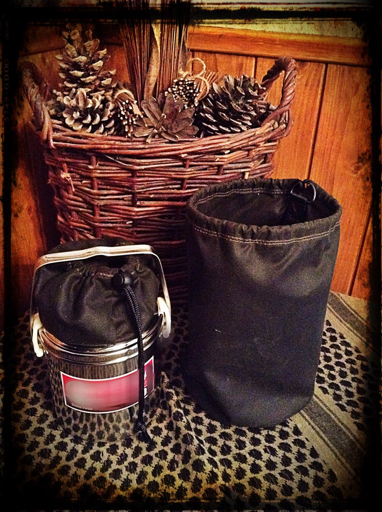 Image of BillyCan Oilskin Storage Pouch Set