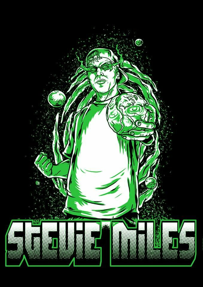Image of Stevie Miles - Planet Crusher T-Shirt
