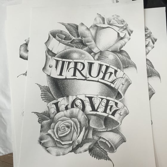 Image of True Love print